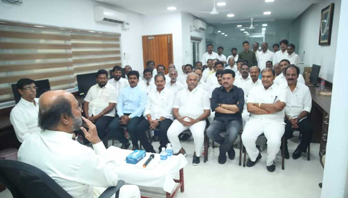 Rajinikanth do not want the Chief Minister post