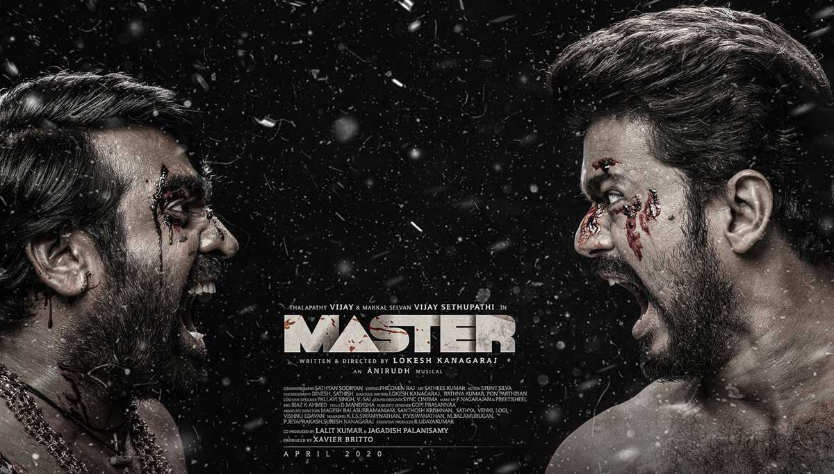 Master Third Look Poster Garners More Than a Million Tweets
