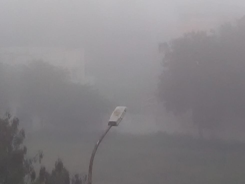 Heavy Smog Today Morning At Coimbatore still1