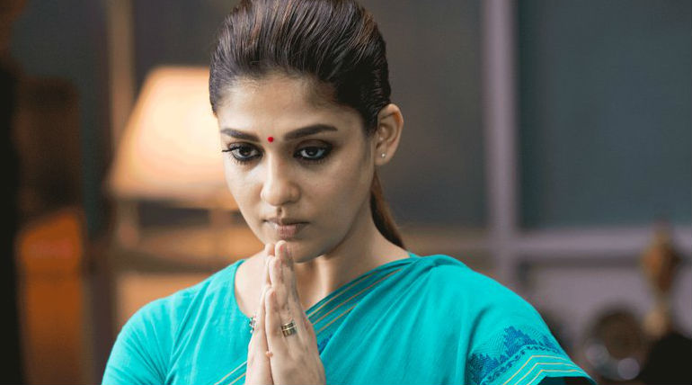 First Time Ever Nayanthara Visiting Chennai Theatres For Aramm Promo