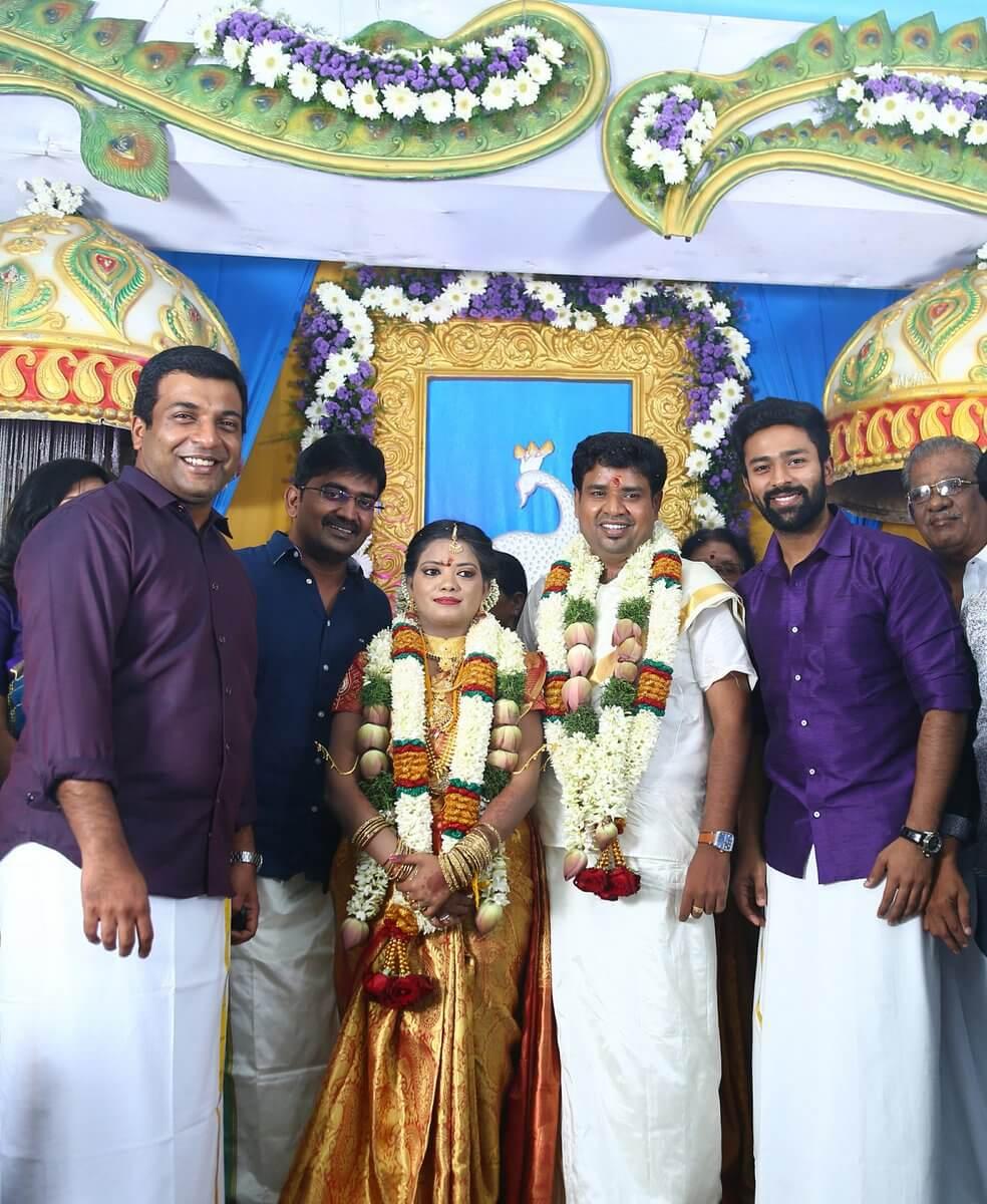 Director Nalan Kumarasamy Marriage Stills