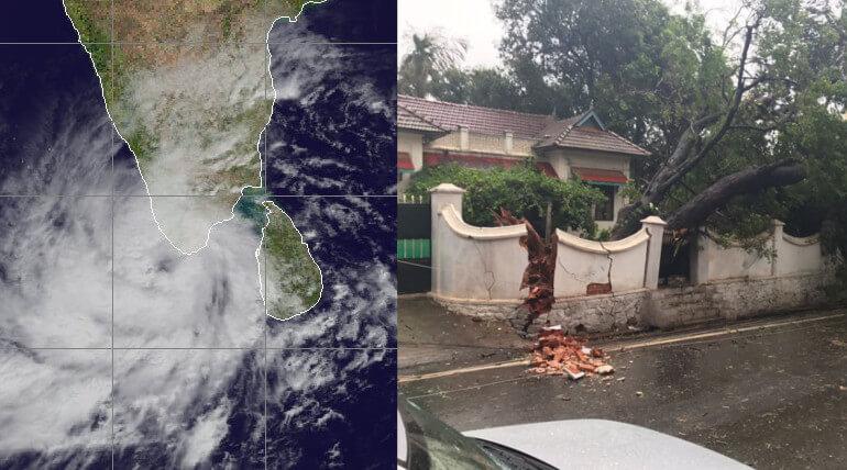 Ockhi Cyclone Damages In Kanyakumari