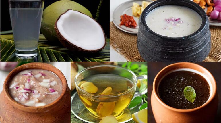 Tamil Nadu Traditional Health Drinks