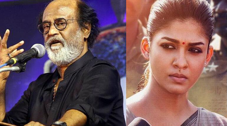 Rajinikanth Praises Nayanthara Starring Aramm
