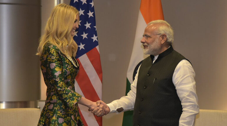 Ivanka Trump Visits Hyderabad For GES 2017 Summit