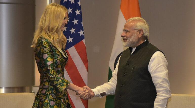 Ivanka Trump Visits Hyderabad For GES 2017 Summit