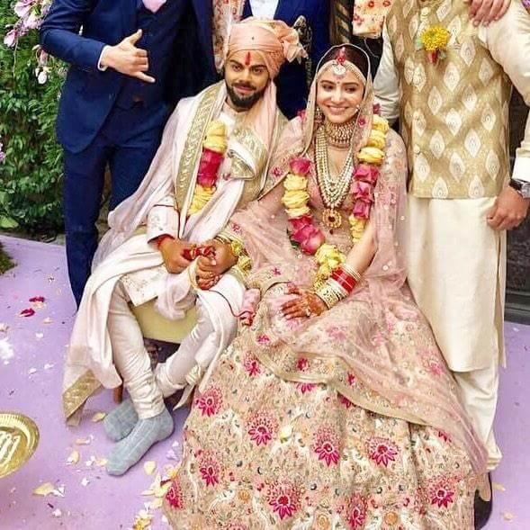 Virat Kohli Anushka Sharma wedding still2