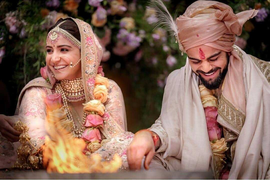 Virat Kohli Anushka Sharma wedding still5