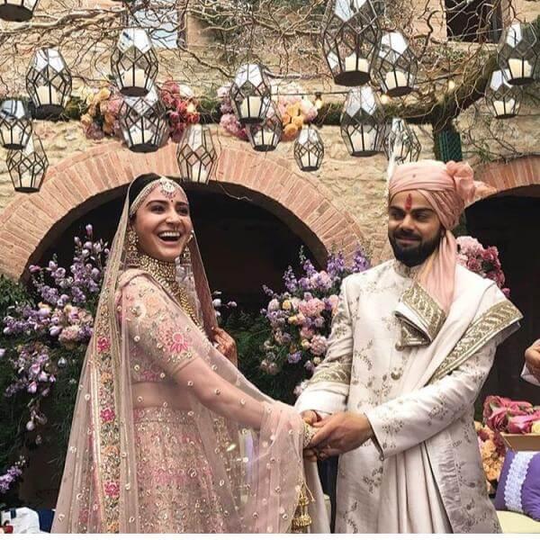 Virat Kohli Anushka Sharma wedding still1