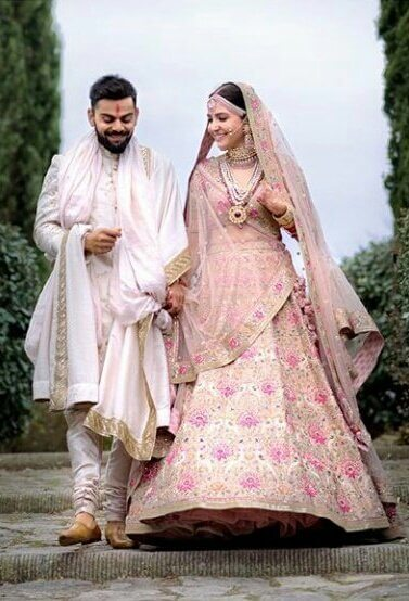 Virat Kohli Anushka Sharma wedding still4
