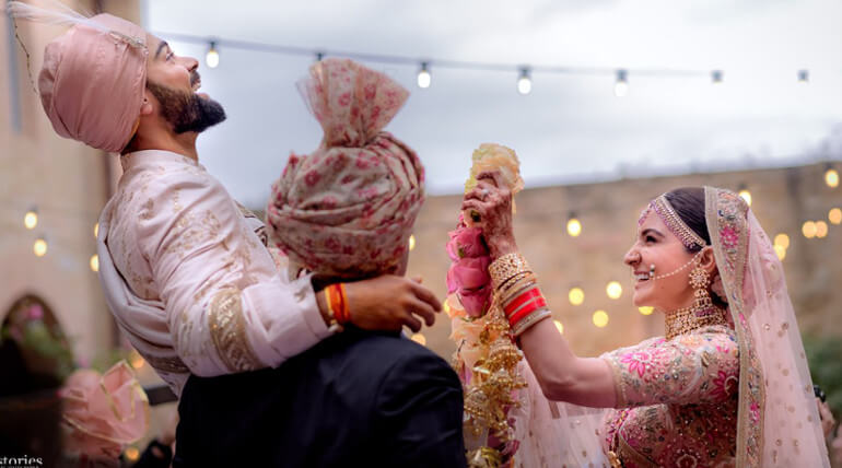 irat Kohli official message about his marriage