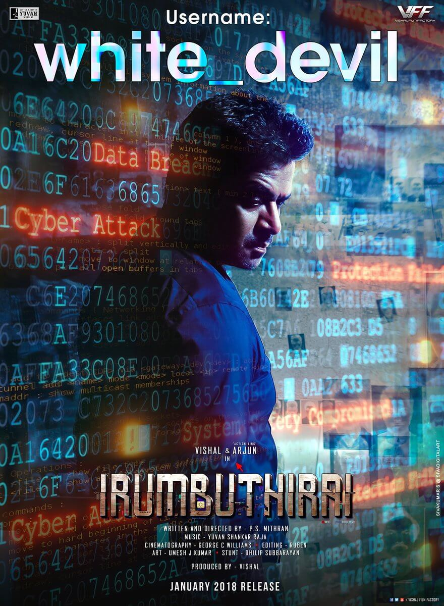 Irumbu Thirai New Poster