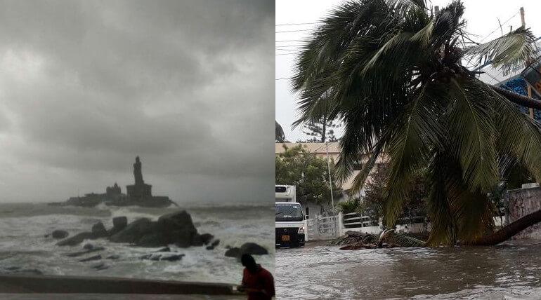 Ockhi Cyclone Moves To Lakshadweep Islands After Battling Kanyakumari