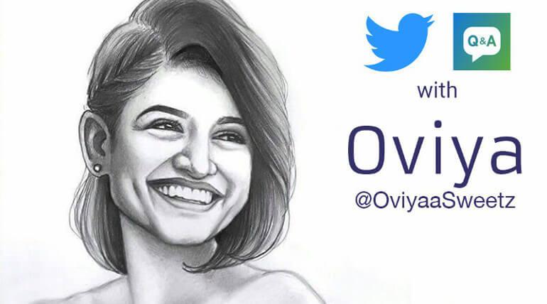 Oviya Live Twitter Chat