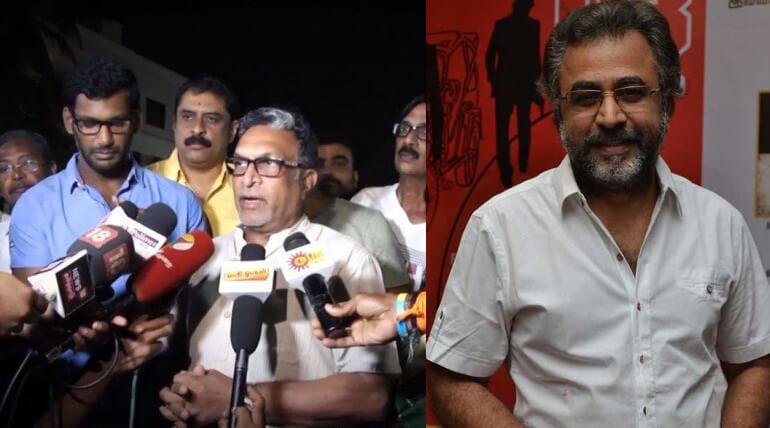 Nadigar Sangam Did Not Accept Ponvannan Resignation