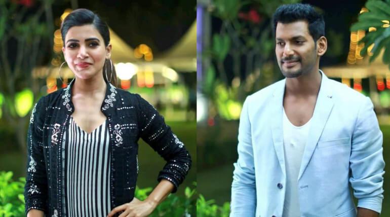 Vishal And Samantha Speech At Irumbu Thirai Teaser Launch