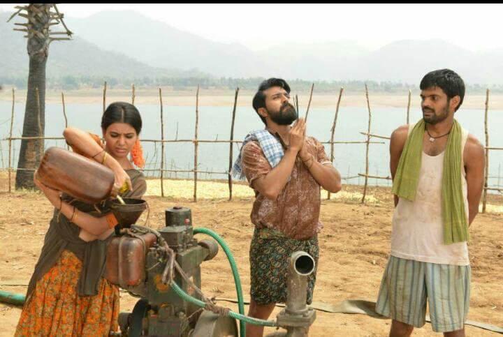 Rangasthalam movie still2 photo credit Mythri Movie Makers