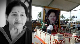 Former CM Jayalalithaa's First Death Anniversary