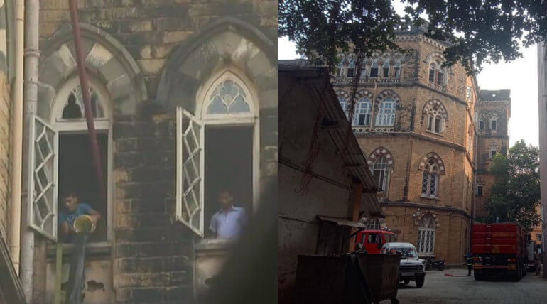 Mumbai session court fire accident