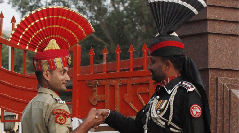 No sweets were given to the PAk soldiers on this year republic Day