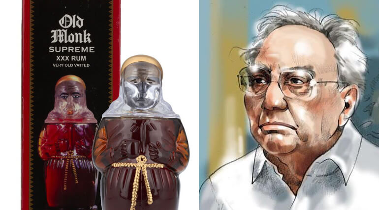 Inventor of Old Monk Rum had passed away