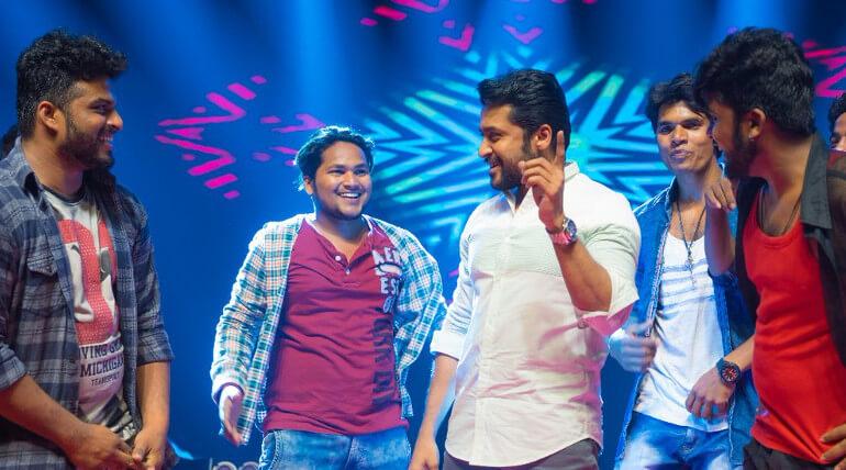 Suriya Danced In Gang Audio Launch Event
