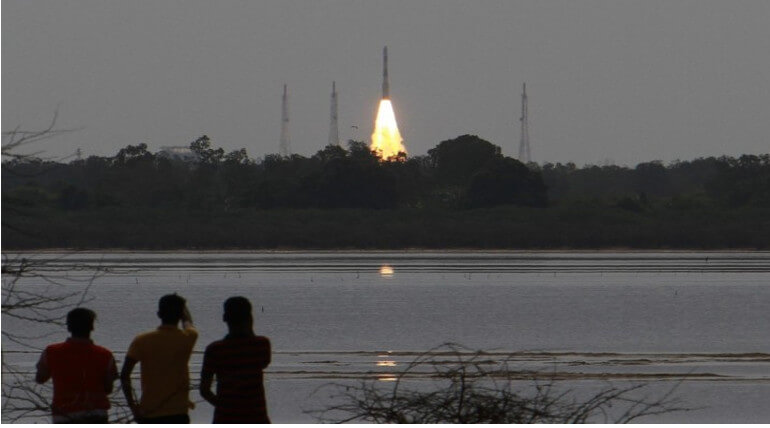 ISRO Had Successfully Launched PSLVC40 As Its 100th Satellite Launch