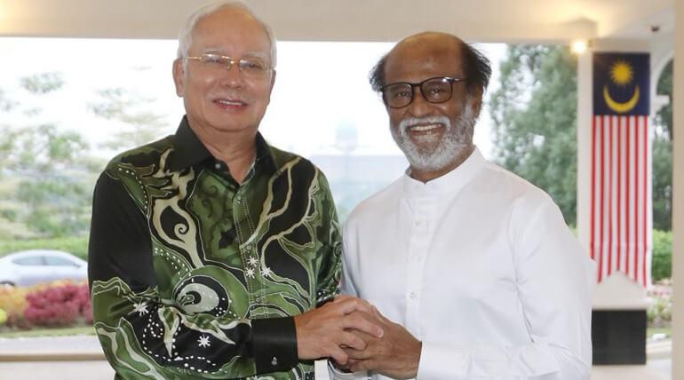 Malaysian Prime Minister Calls Rajinikanth As Thalaiva