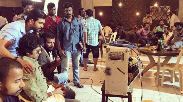 Arun Vijay Stars Thadam Shooting Spot Still