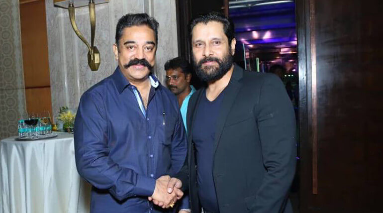 Vikram And Kamal Haasan Team Up For New Project