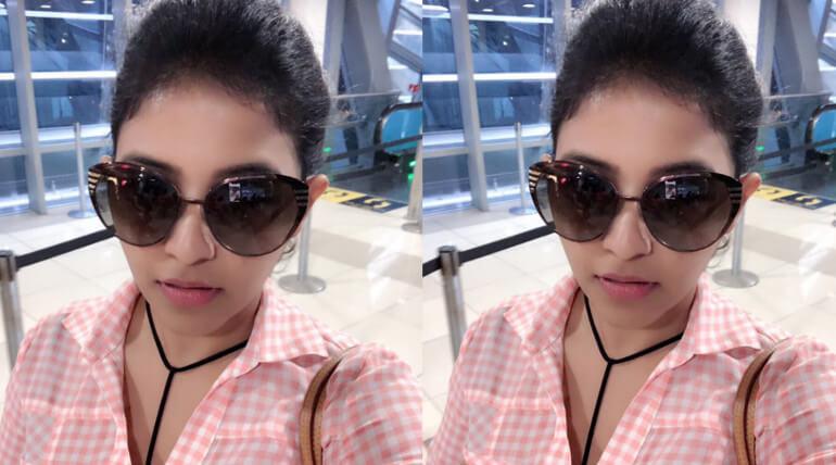 Anjali Joins Kaali Movie Shooting