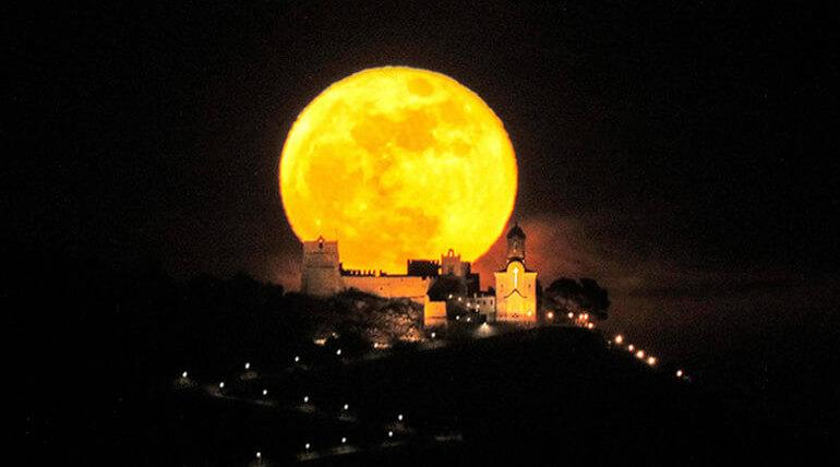 Rare Super Blood Moon On January 31 2018