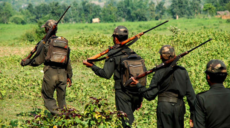Two Naxals Including A Women Were Killed In Retaliation
