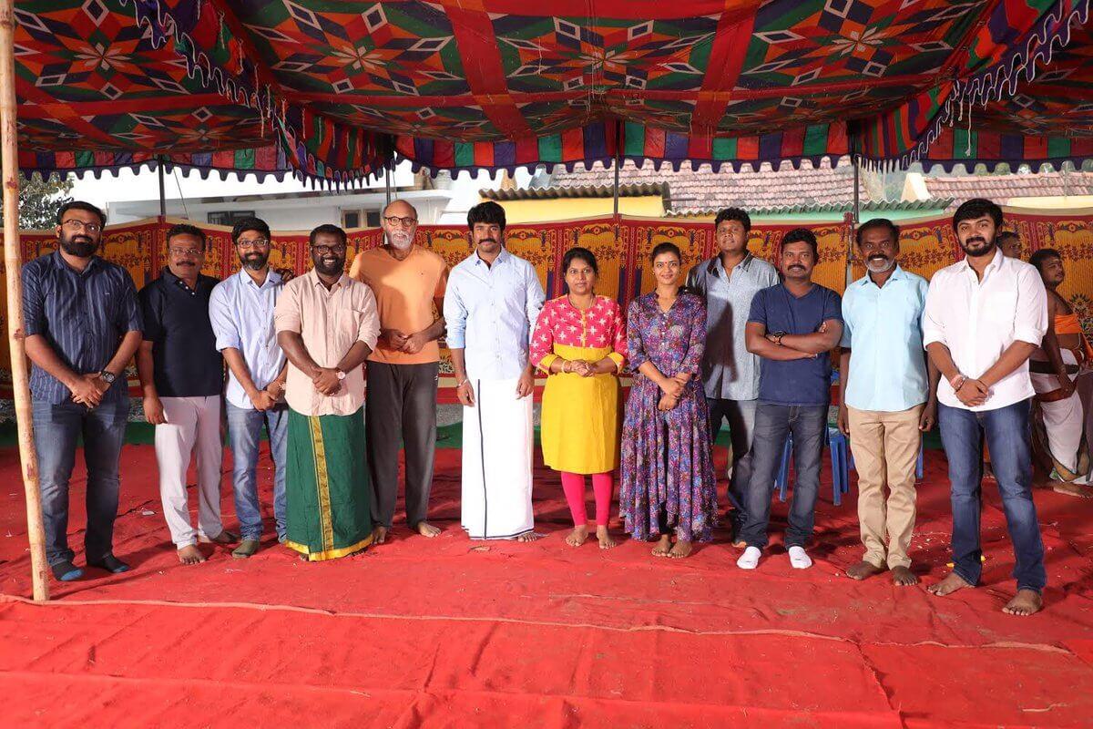 Sivakarthikeyan Productions Pooja still1,credit-Sivakarthikeyan