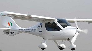 File image of Microlight plane of IAF