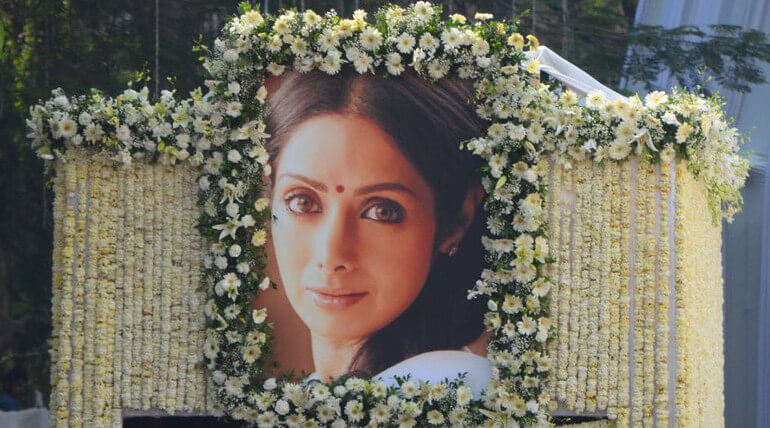 Sridevi Final Journey Is Taking Place Right Now