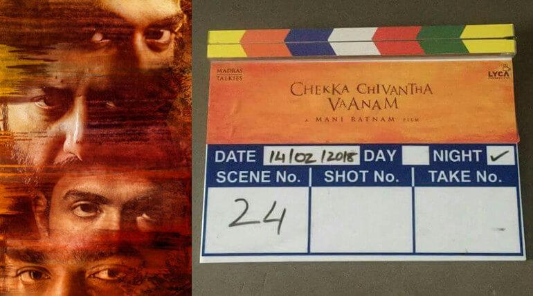 Chekka Chivantha Vaanam Shoot Started At Chennai