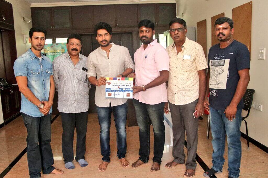 Vishnu Vishal 4th Production pooja still1