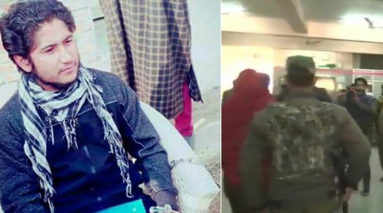 LeT Terrorist Escaped By leaving Cop Assailants Behind