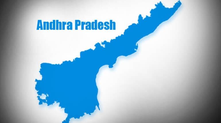 Five Tamil Nadu Woodcutters found dead in Andhra Pradesh/File image of Andhra Pradesh map