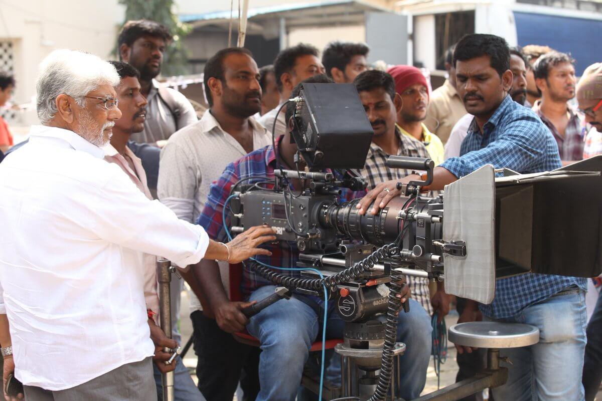 Vikram Prabhu Asura Guru Movie Pooja Still4