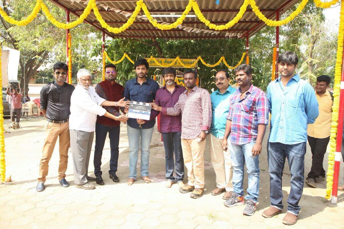 Vikram Prabhu Asura Guru Movie Pooja Still1