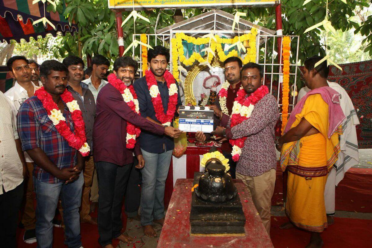Vikram Prabhu Asura Guru Movie Pooja Still2