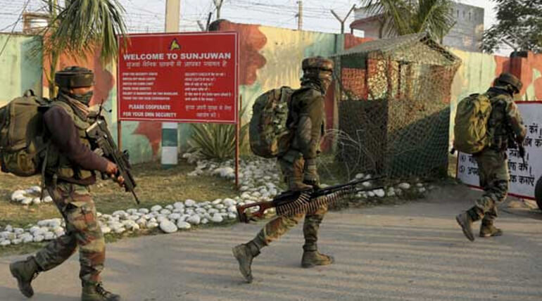 Terror Attack At Sunjuwan Army Camp IAF Para Commandos Deployed For Support