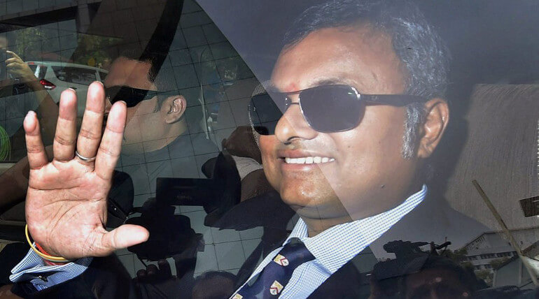 CBI Arrested Karti Chidambaram Today For Money Laundering Case