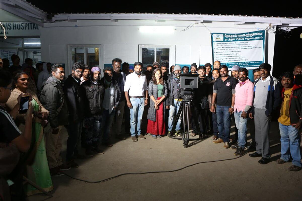 Sasikumar Stars Asuravadham Shoot Wrap still1