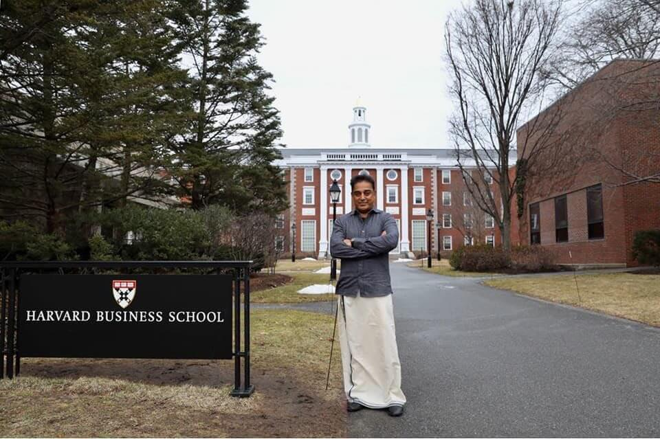 Kamal Haasan At Harvard University Still2