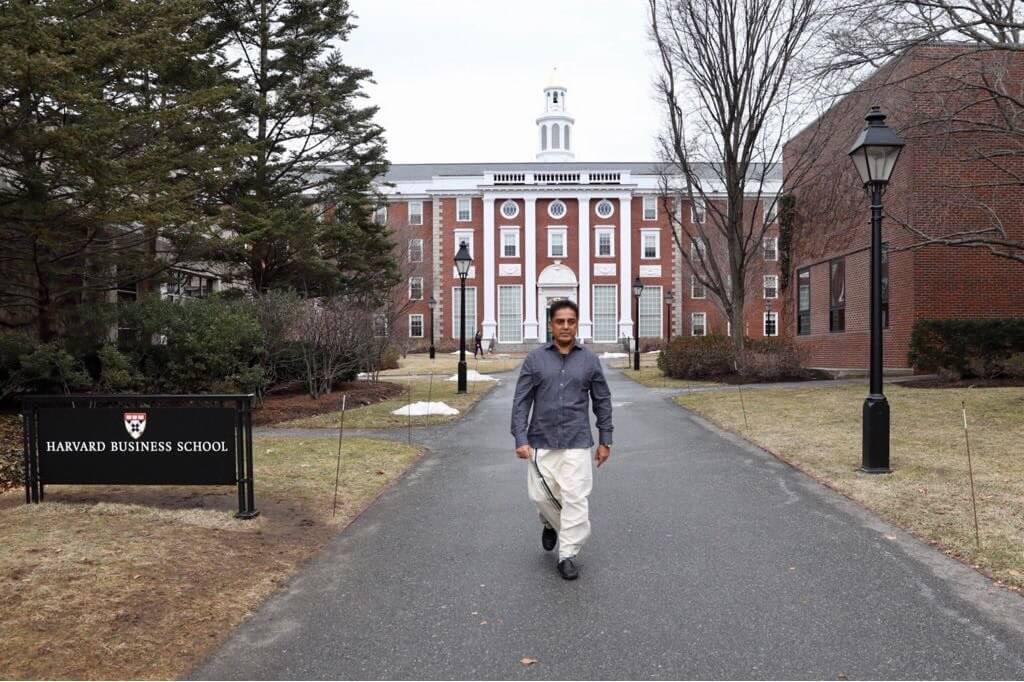 Kamal Haasan At Harvard University Still1