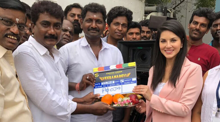 Veeramadevi Shoot Started With Pooja