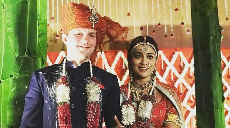 Shriya Saran Marriage Photos Going Viral